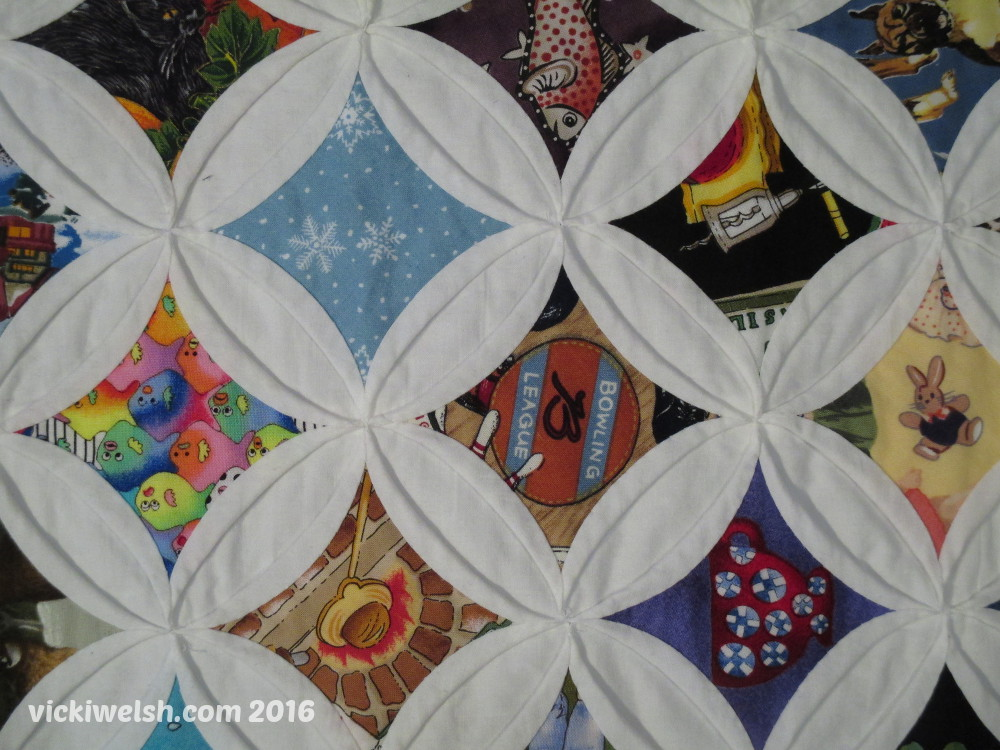 cathedral window quilt by vicki welsh