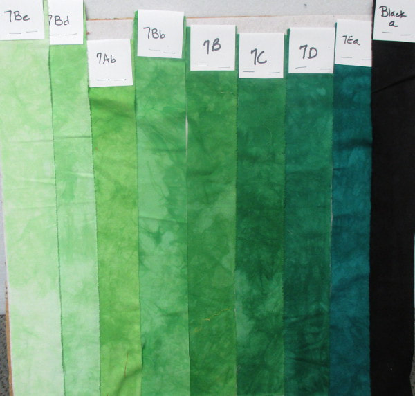 hand dyed fabric custom order