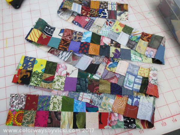 http://www.colorwaysbyvicki.com/blog/the-postage-stamp-quilt7458177