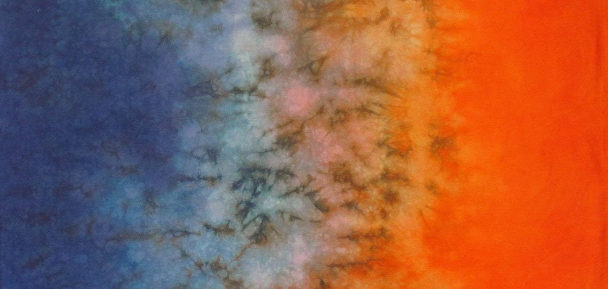 hand dyed fabric sale