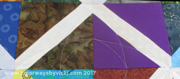 simple longarm quilting pattern