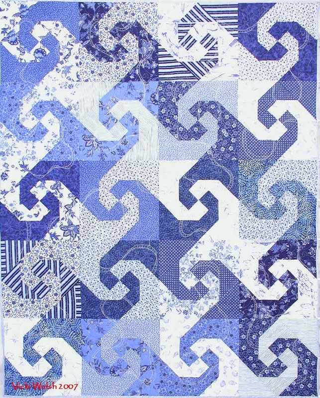 Vicki Welsh 2007 Snails Trail Quilts Colorways By Vicki Welsh