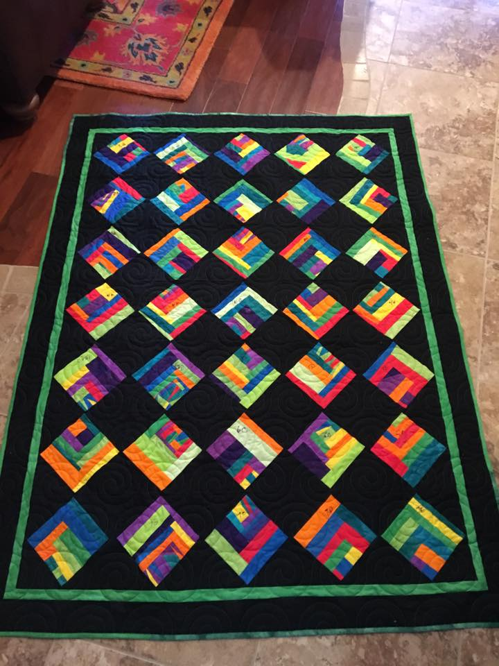 Scrap Quilt by Pat Ferguson