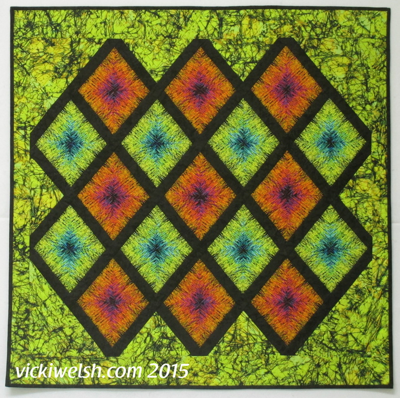 kaleidoscope quilt by vicki welsh