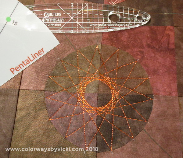 vicki welsh spirograph quilting