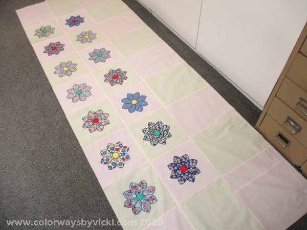 buttonhole applique quilt