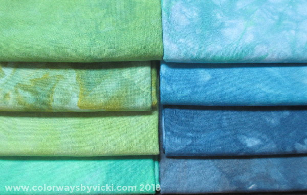hand dyed fabric