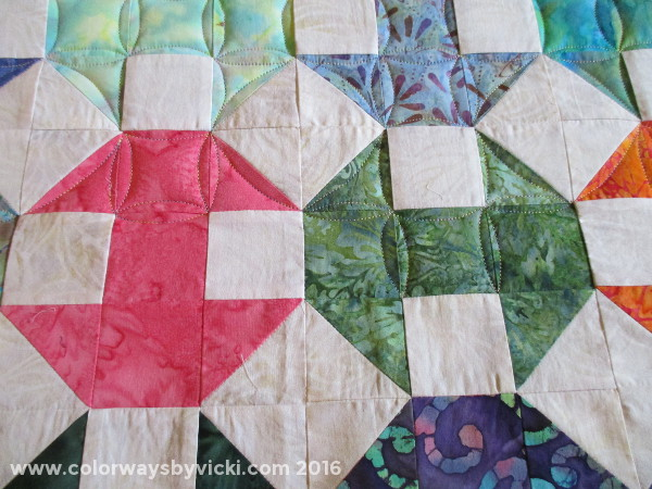 continuous curves quilting