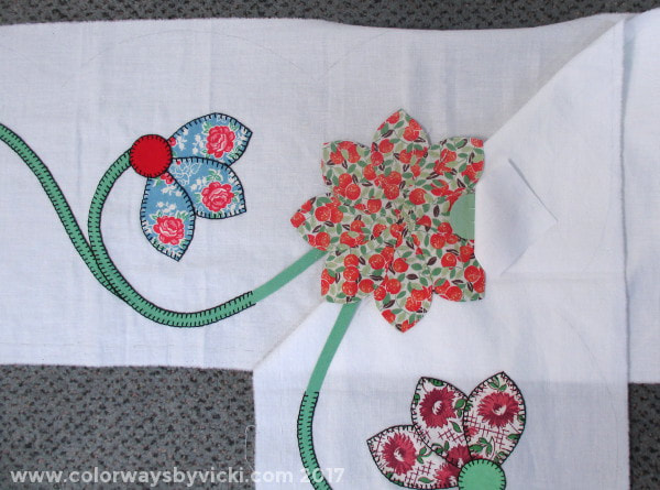 blanket stitch applique