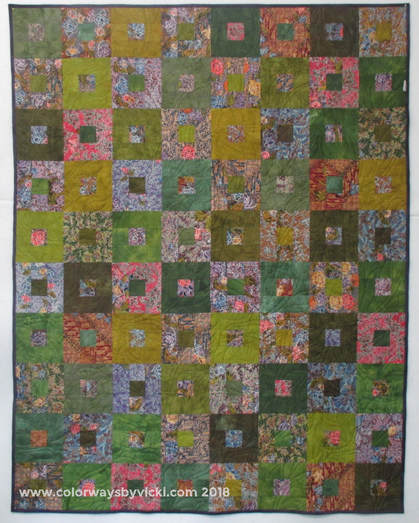 Blockade Quilt Pattern - Colorways By Vicki Welsh
