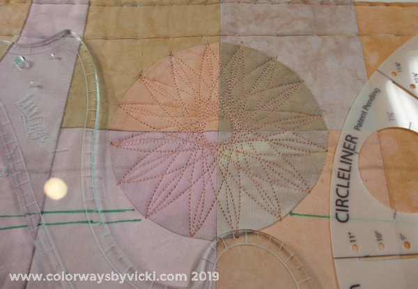 spirograph quilting