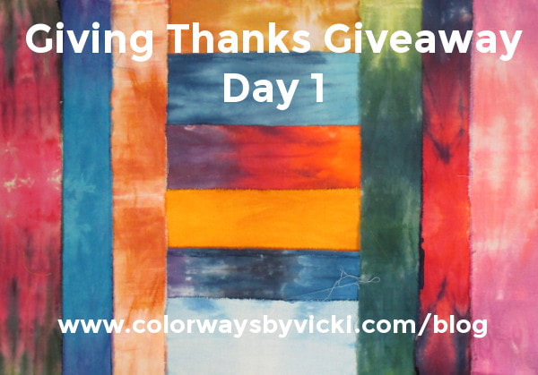hand dyed fabric giveaway