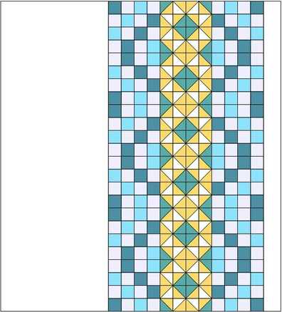 electric quilt layout