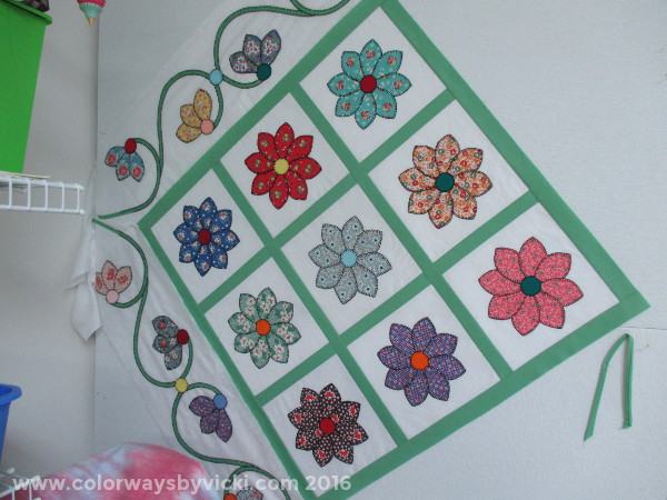 buttonhole stitch applique